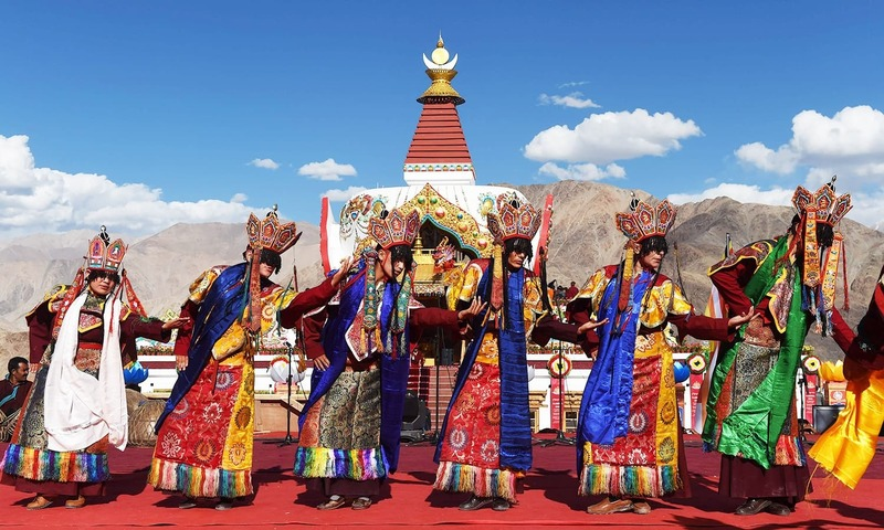 Thousands flock to Indian Himalayas for rare Buddhist festival