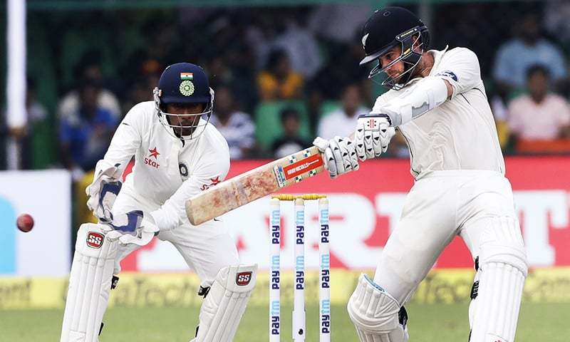 New Zealand go down on their knees to combat Indian spin