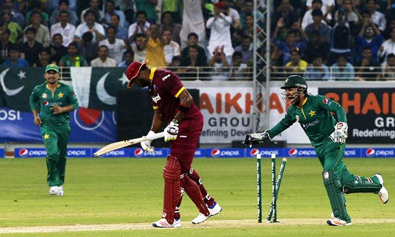 Pakistan bowl first against West Indies in first T20I
