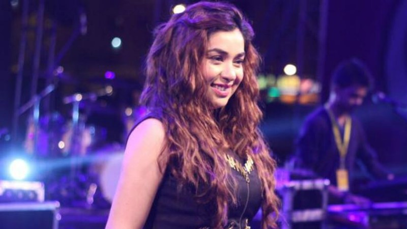 While some of our stars set their sights on Bollywood, singer Komal Rizvi went a step further.