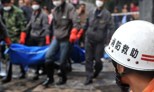 China's coal mine accident kills 18, traps two
