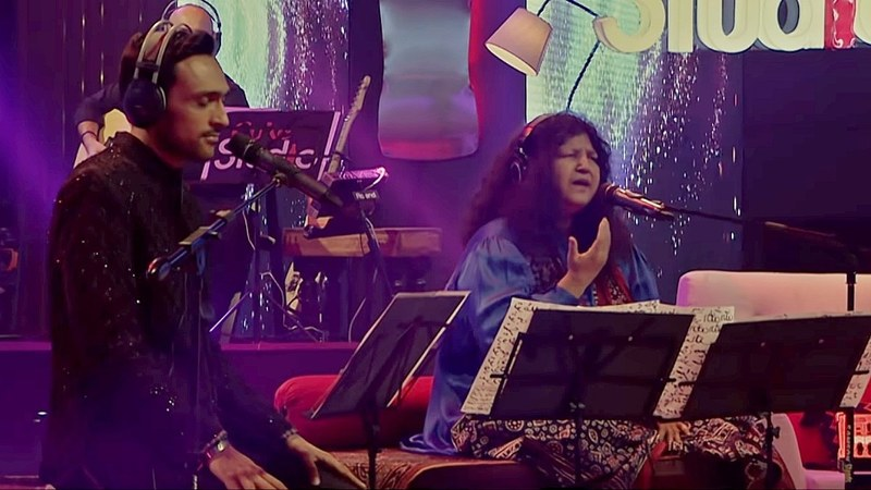 What39s It Like To Sing With Abida Parveen Ali Sethi Shares His Coke Studio Experience