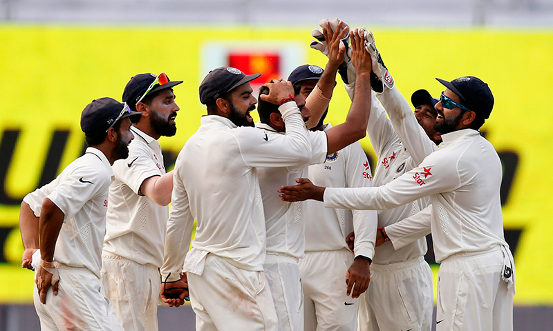 India beat New Zealand to win series, become top Test team