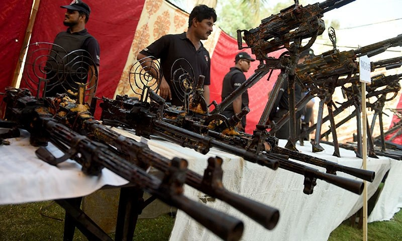The final count of the recovered weapons has yet to be made public. —AFP