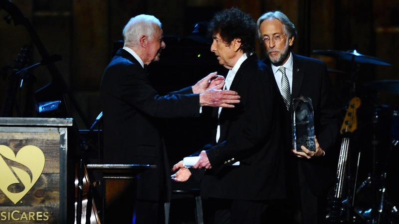 He's the first songwriter to win the prize for literature - some are overjoyed, others not so much