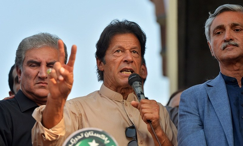 Imran again demands Nawaz to step down amid Panama Papers inquiry