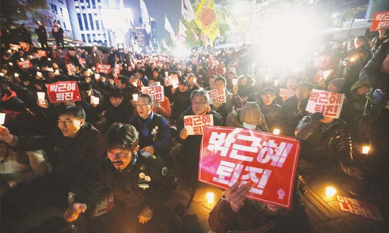 South Korea names new PM amid scandal