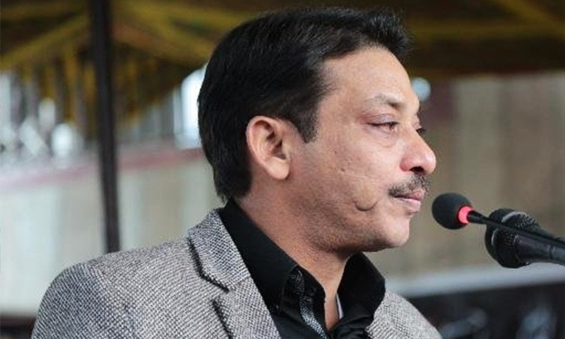 Faisal Raza Abidi resigned from the Senate in 2014.— Photo: Twitter