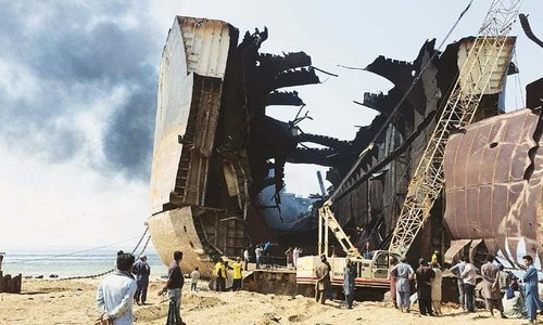 Death toll rises to 26 in Gadani shipbreaking blast