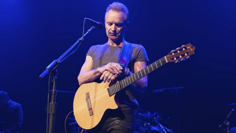 """We have two tasks: to honor victims who lost their lives and to honor music and life,"" Sting said before his concert - Photo: AP"