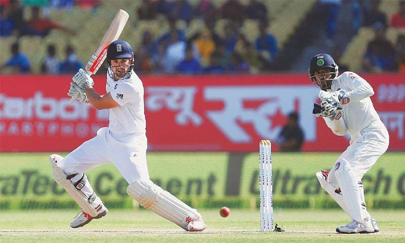 Bayliss encouraged by Hameed's Test debut in Rajkot