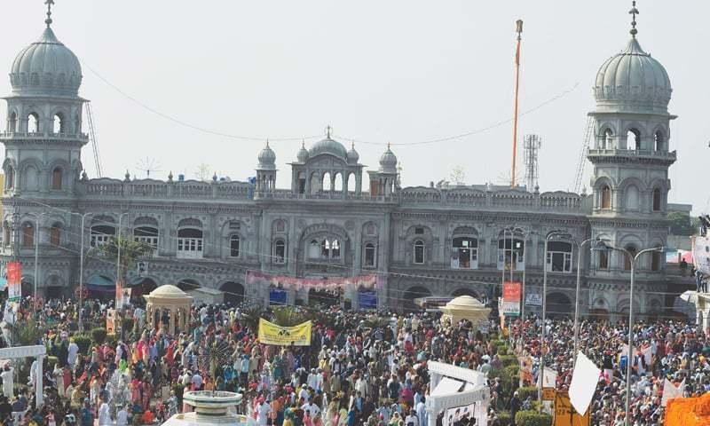 Sikhs unburden themselves at Guru Nanak's birthplace