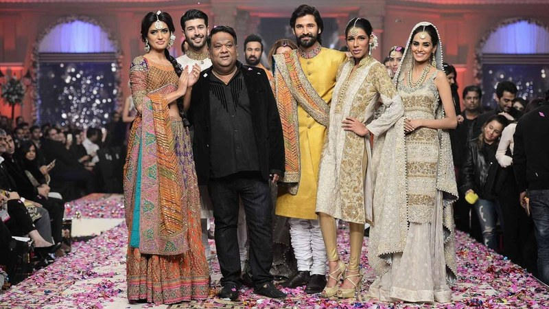 Umar Sayeed at the Telenor Bridal Couture Week 2014 Lahore.