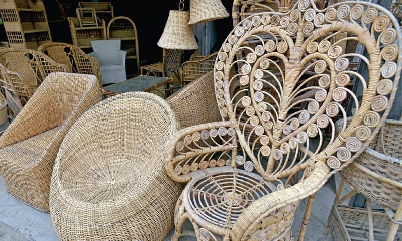 Keeping The Art Of Cane Furniture Alive Newspaper Dawn Com