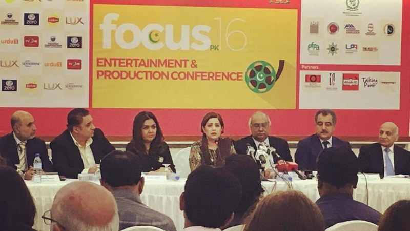 The Focus PK team at their press conference yesterday - Photograph courtesy Focus PK's Facebook page