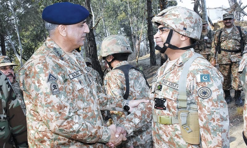Indian LoC violations to be responded with full force: Gen Bajwa