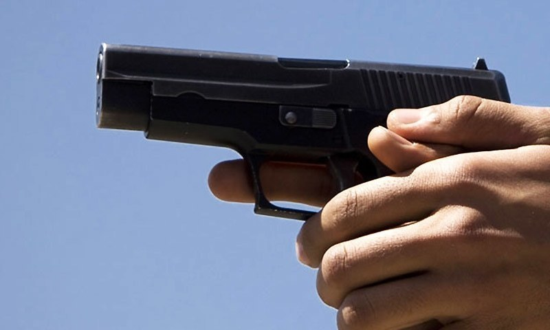 Antiterrorism police officer shot dead, son injured