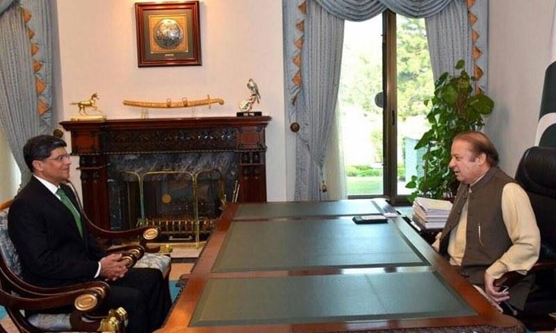 وزیراعظم ہاؤس میں ہونے والی ملاقات میں ملکی سلامتی سے متعلق امور پر تبادلہ خیال کیا گیا—فوٹو: وزیراعظم ہاؤس
