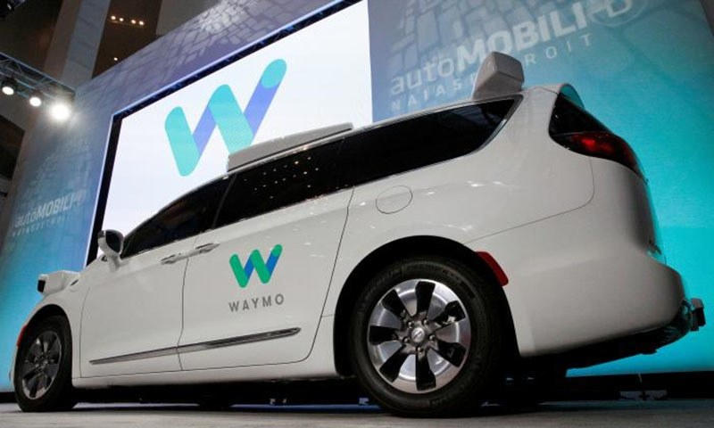 Waymo unveils a self-driving Chrysler Pacifica minivan during the North American International Auto Show in Detroit, Michigan, US. — Reuters
