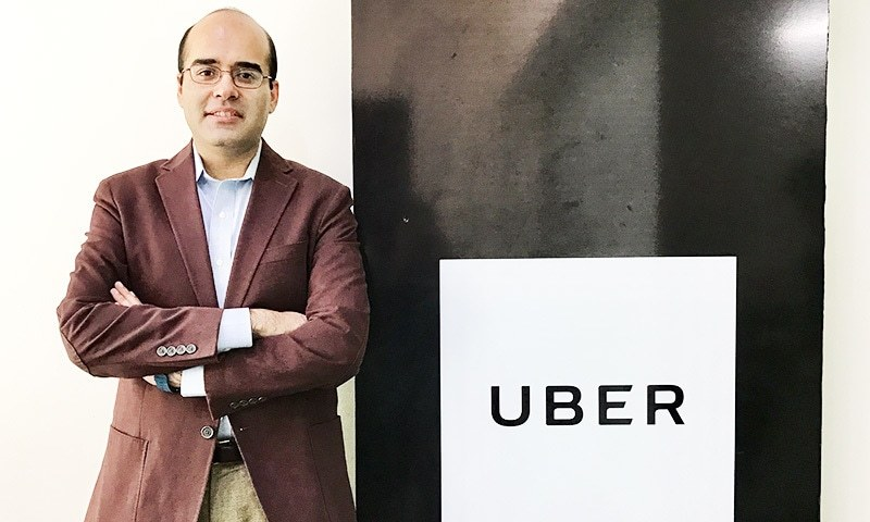 Safee will be heading Uber in Pakistan.—Photo courtesy: Uber