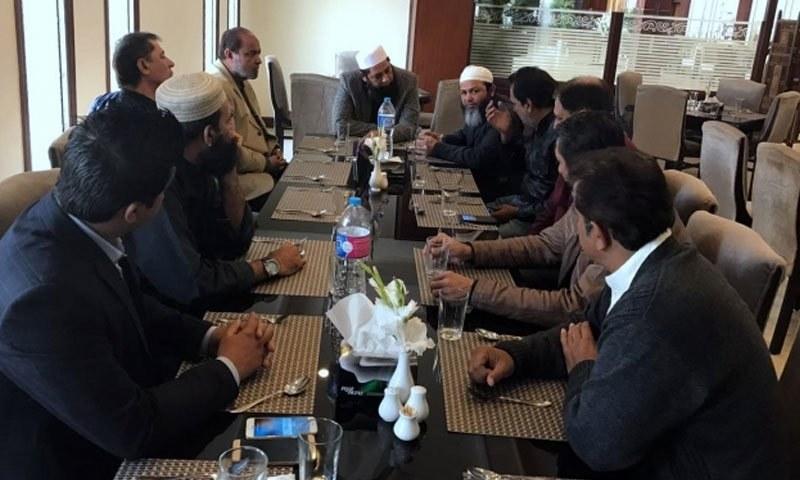 انضمام الحق کی سربراہی میں اسلام آباد میں ریجنل کوچز کااجلاس ہوا—فوٹو: پی سی بی