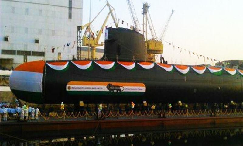 INS Khanderi. ─ Photo courtesy Express Photo, Indian Express