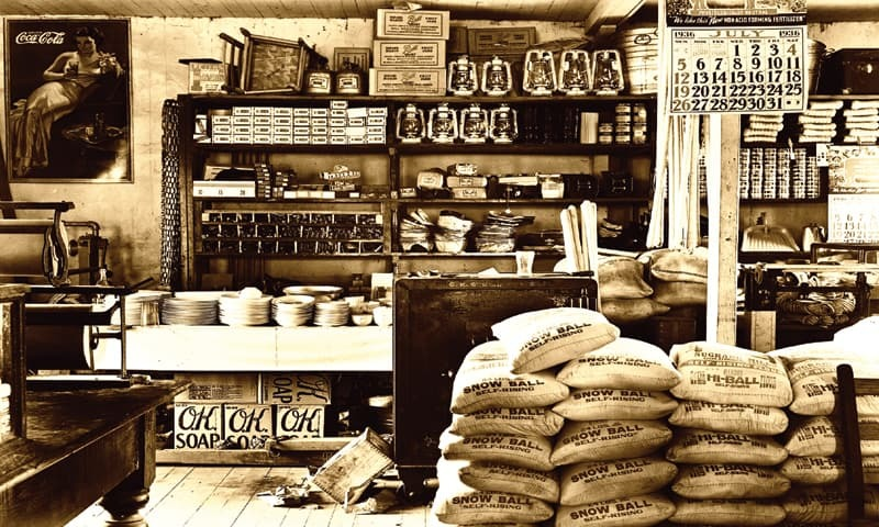 Flashback: Shopping used to be an exhausting, intimate, exhilarating and bewildering exercise.