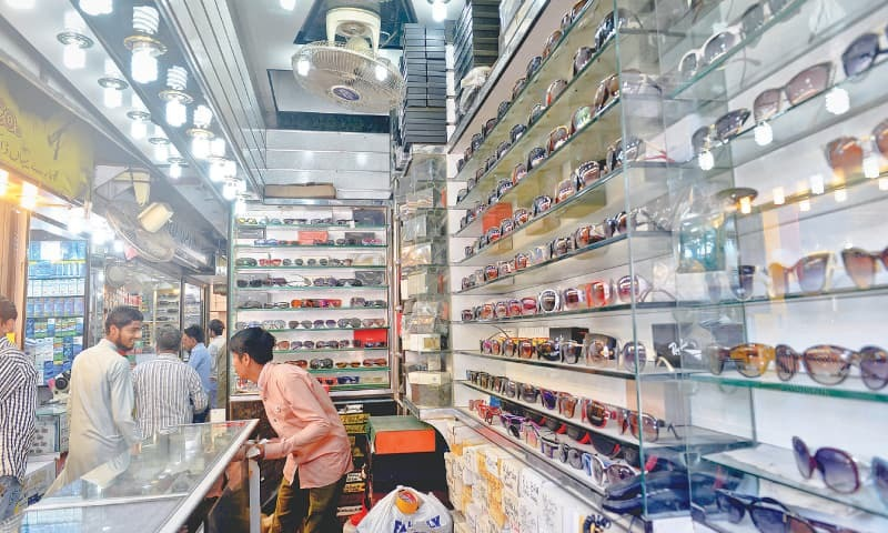 The eyeglass market in Boulton Market has 148 shops. / Photos by Fahim Siddiqi / White Star