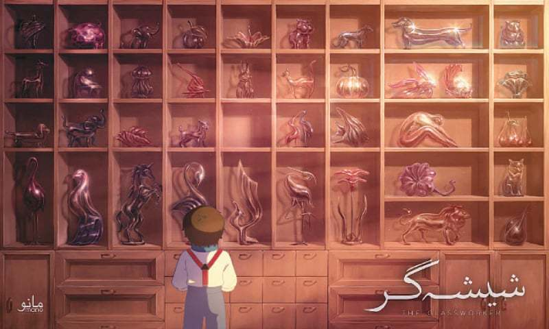 At a painstakingly slow pace, Pakistan's first-ever hand-drawn animated feature film, The Glassworker, is coming to vivid, remarkable life. Icon goes behind the scenes at Manto Animations …