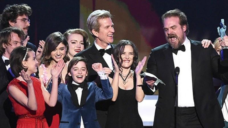 The cast of Stranger Things —Photo courtesy: TVLine