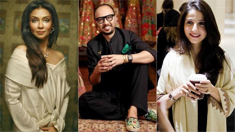 From L-R: Shamaeel Ansari, Nomi Ansari and Tena Durrani