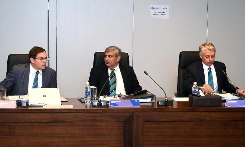 ششانک منوہر نے نئے فیصلوں کو کرکٹ کے مستقبل کے لیے اچھا قدم قرار دیا—فوٹو: آئی سی سی