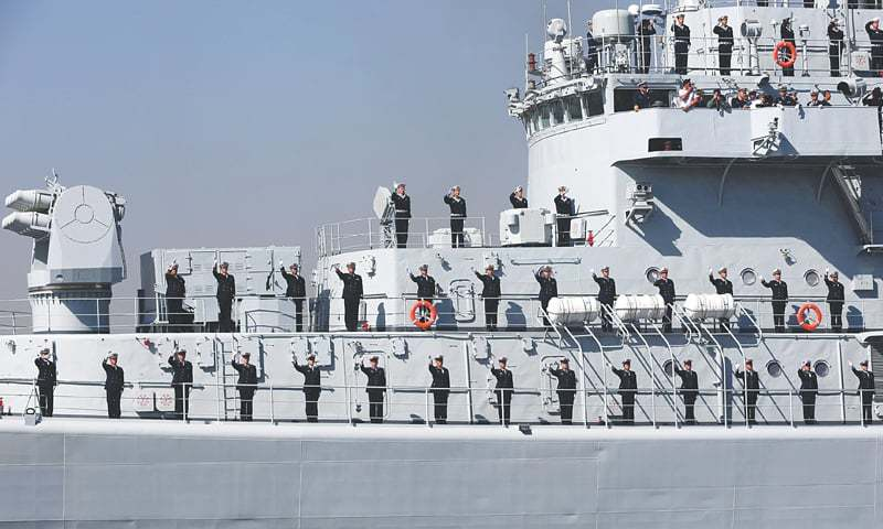 Multinational 'Aman-17' naval exercise begins in Karachi