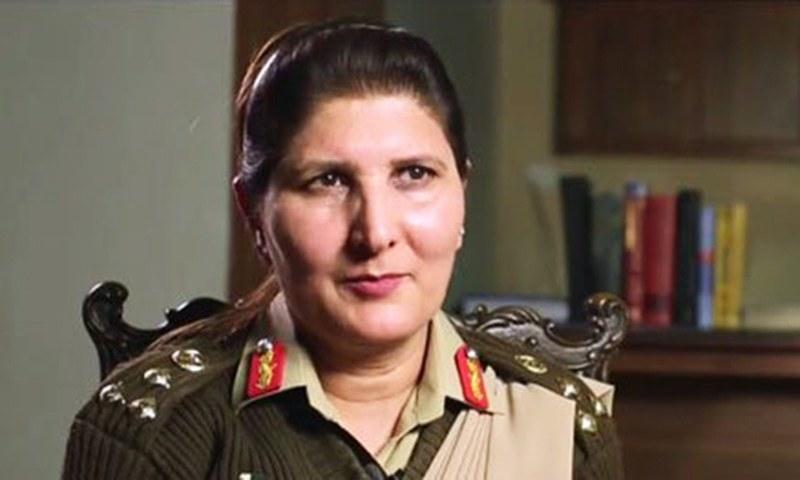 Major General Nigar Johar. -ISPR