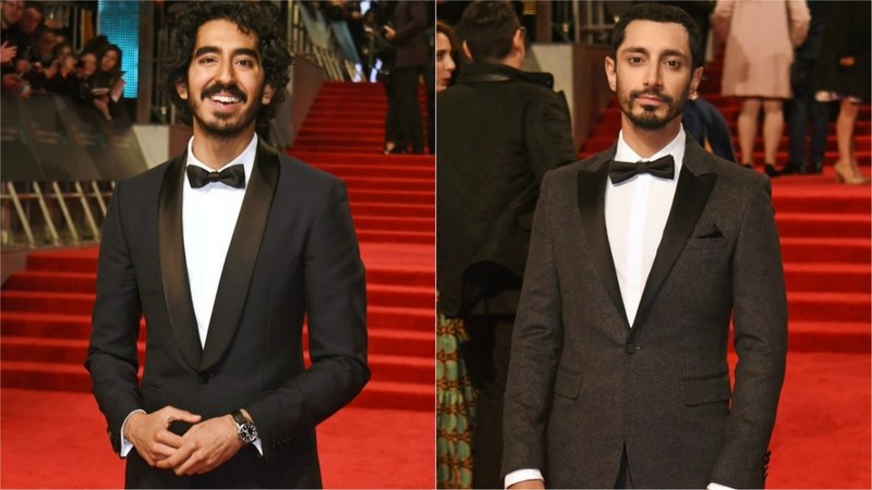 Burberry congratulated the actor but tweeted it with a photo of British-Pakistani actor Riz Ahmed.