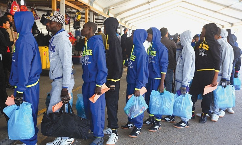 Image result for Libya Repatriates 155 More Nigerians