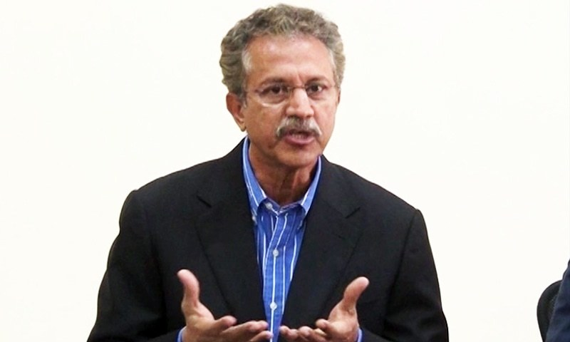 Karachi Mayor Waseem Akhtar. ─DawnNews