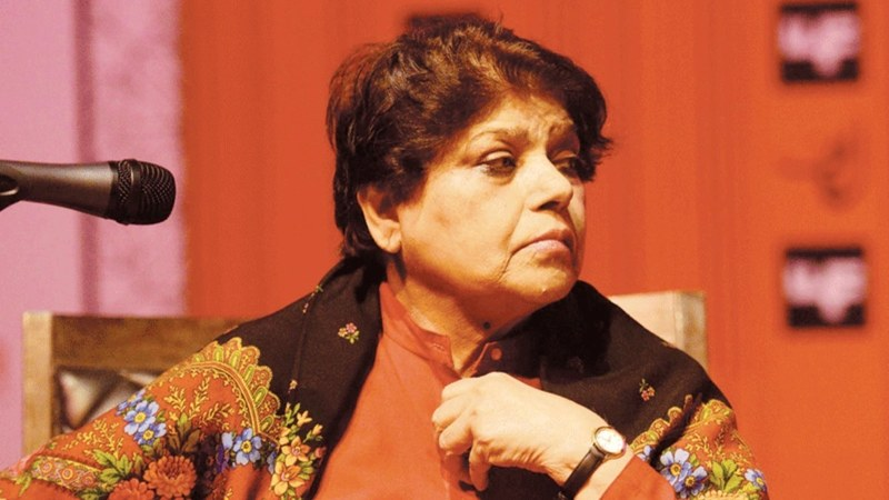 Kishwar Naheed cut her trip short after realising she was only called as a guest to the event and was not on the programme