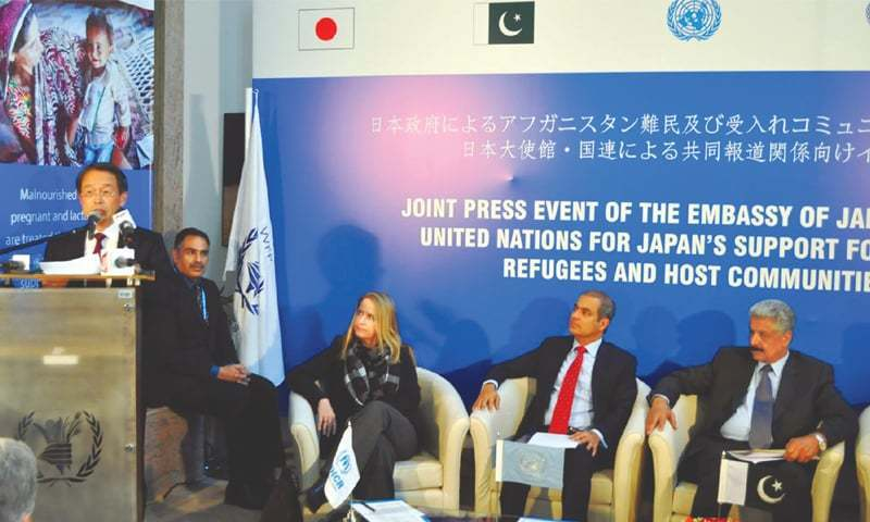 Japan announces $7m aid for Afghan refugees
