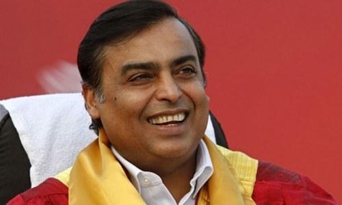 Mukesh Ambani, Chairman of Reliance Industries Limited.—Reuters/File