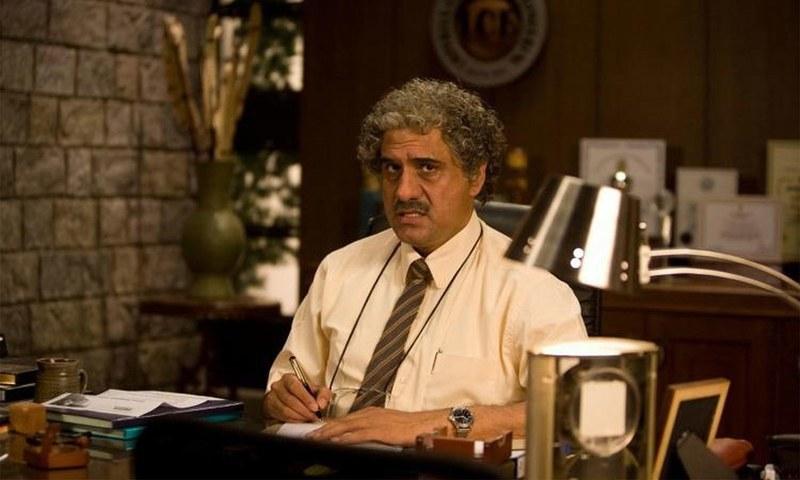بومن ایرانی نے فلم 'تھری ایڈیٹس' میں پروفیسر کا کردار ادا کیا تھا—۔فائل فوٹو