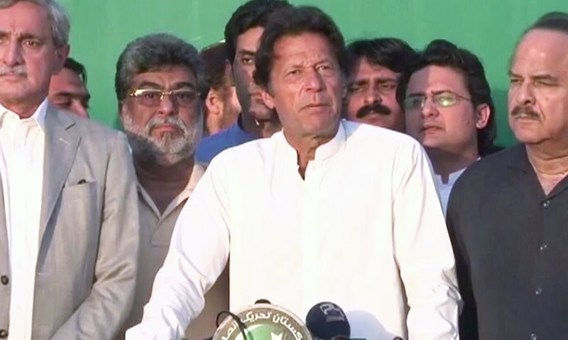 Image result for Imran Khan lambasts PML-N for raising import duties