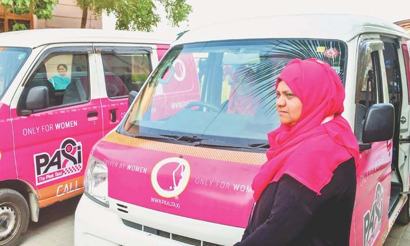THE pink taxi for women is one brilliant idea fast capturing the imagination of the people.—Fahim Siddiqi / White Star