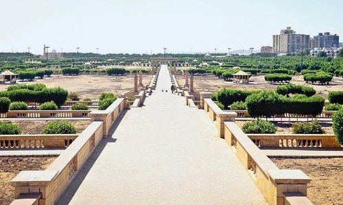 Spread over 130 acres, Bagh Ibn-e-Qasim was redeveloped in a record time of 10 months after removing encroachments from 70 acres of its land in February 2007.— Fahim Siddiqi / White Star