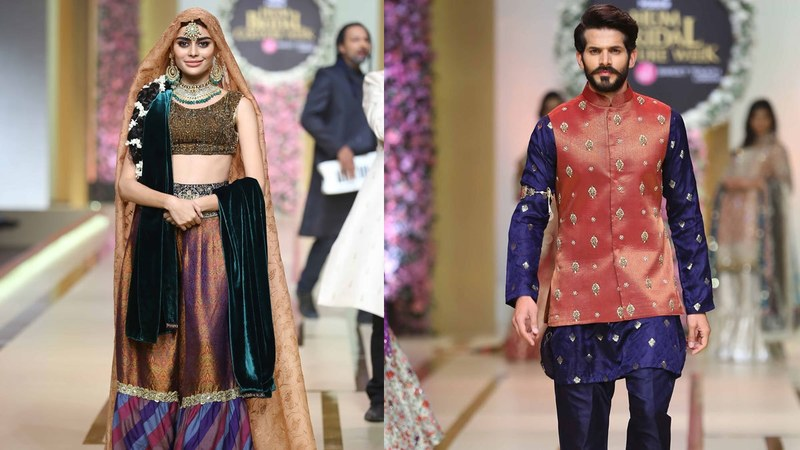 9 looks from bridal couture week wed never wear style