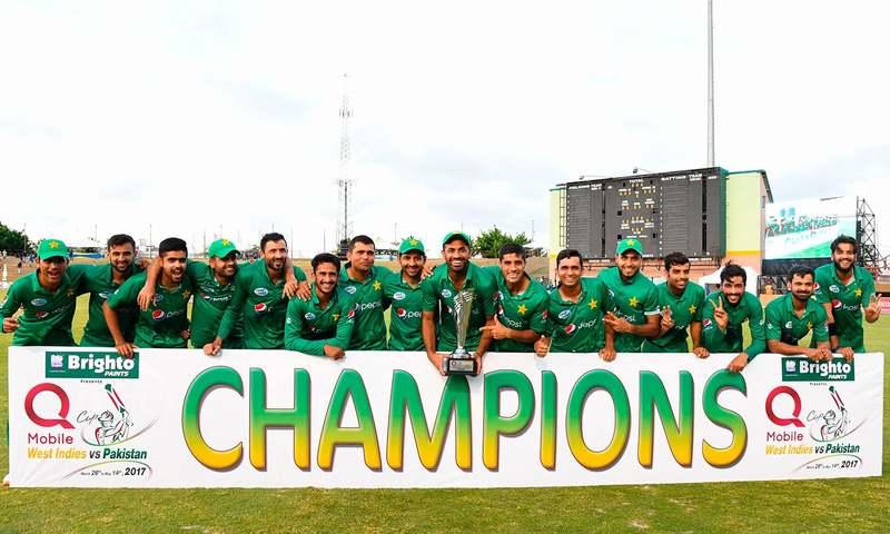ایک روزہ سیریز میں پاکستان کی فتح