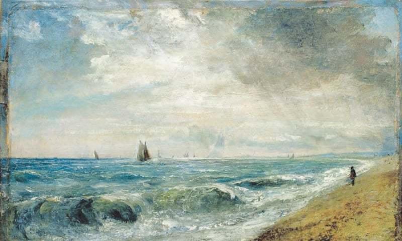 Hove Beach, (1824-28)