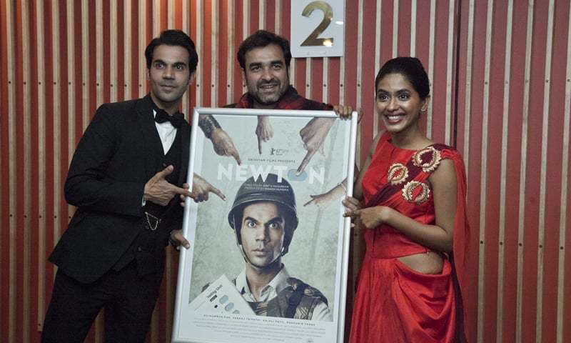 Rajkummar Rao, Pankaj Tripathi and  Anjali Patil