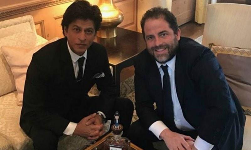 بریڈ ریٹنر اور شاہ رخ خان نے سان فرانسسکو انٹرنیشنل فلم فیسٹیول میں ملاقات کی — فوٹو/ فائل