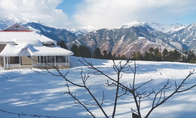 Undisturbed by most tourists, Shogran wears a blanket of white in winter | Photos by the writer